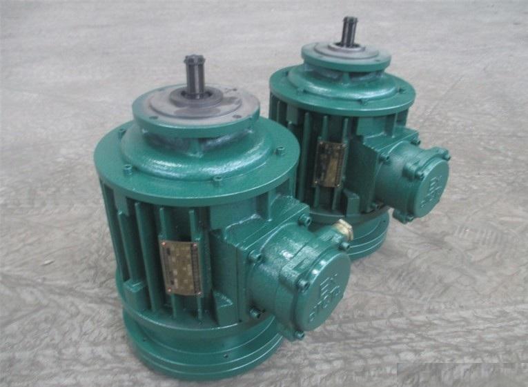 锥型转子三相异步电动机,外壳防护等级为ip44,接线盒防护等级为ip54