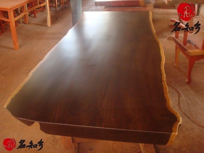 非洲黑檀木大板ht-04_红木家具