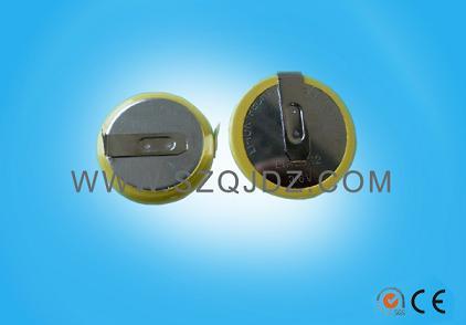 36V可充电池LIR2032电池焊脚