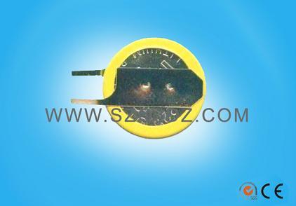 3V纽扣电池CR1220电池焊脚
