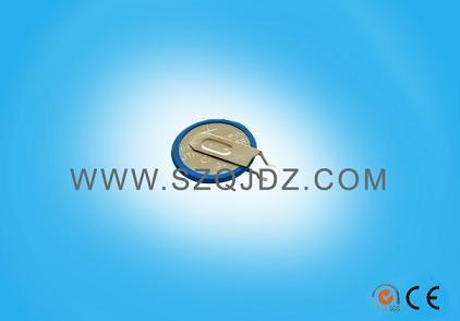一次性电池CR1620焊脚电池