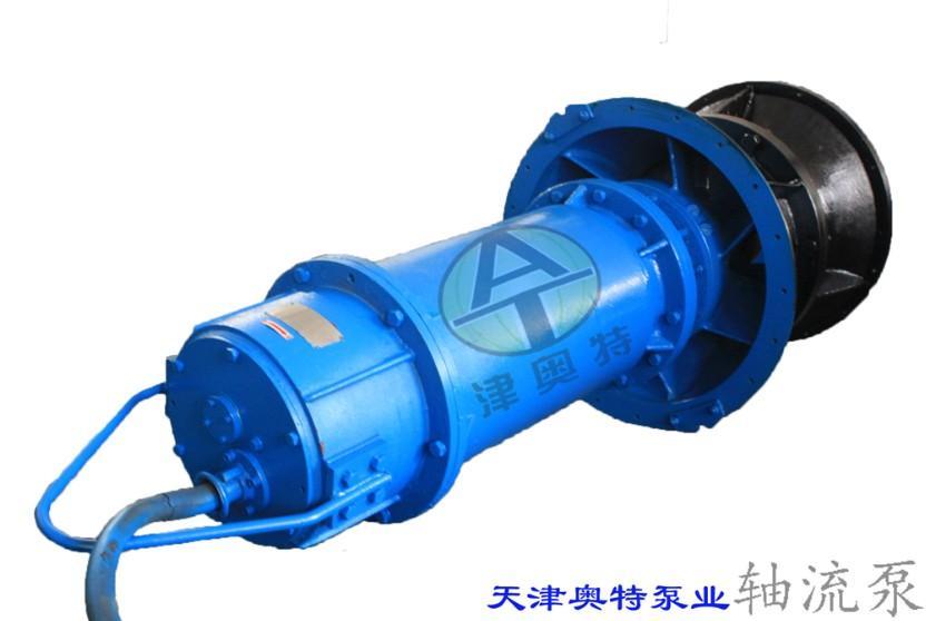 轴流泵按泵轴的安装方式分为立式,卧式和斜式三种,它们的结构基本