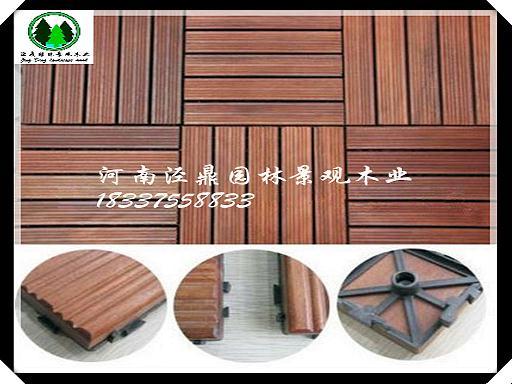 室外防腐木地板做法_防腐木_碳化木_桑拿板
