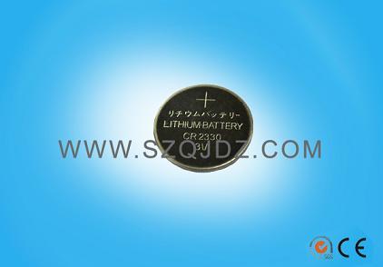 批发CR2330电池CR2330焊脚电池3V锂电池