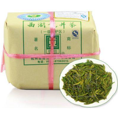 贡牌雨前A级传统纸包装西湖龙井茶