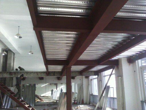 北京专业钢结构跃层搭建室内夹层隔层阁楼制作安装