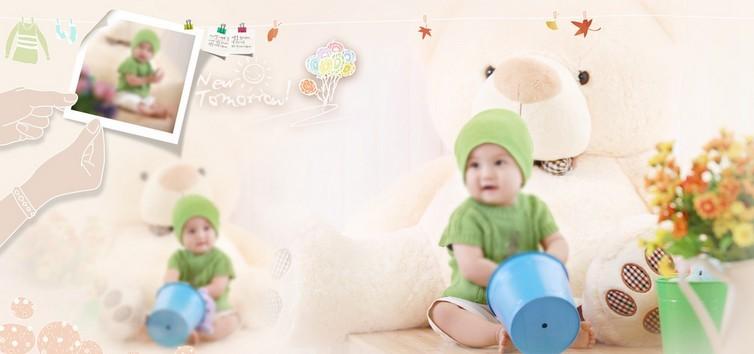 2013蛇宝宝儿童相册设计欣赏小孩成长纪念册设计
