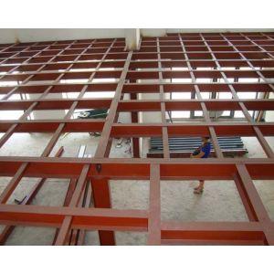 北京室内钢结构二层制作专业做别墅挑高隔层底商加层