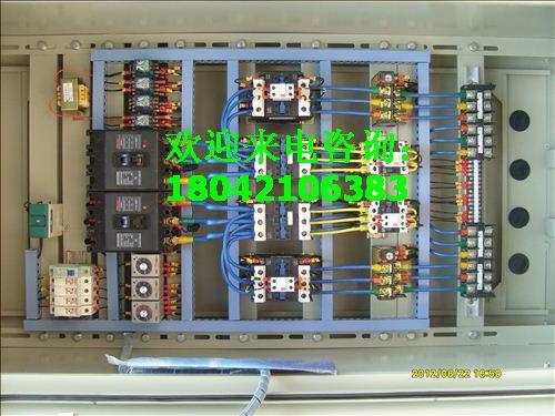碎石机消防控制柜qx4-15kw星三角起动箱挂式
