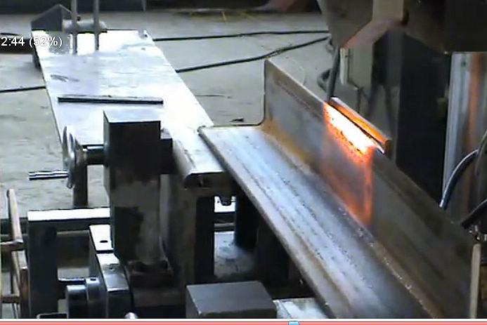电力铁塔火曲高频加热电炉