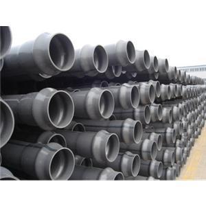 优质upvc实壁给水管壁厚、upvc排水管壁厚、upvc双壁波纹管生产标准
