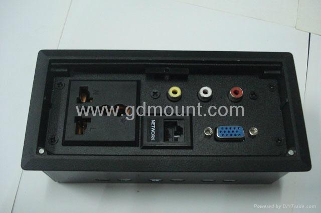 k205c桌面插座,桌面信息接线盒