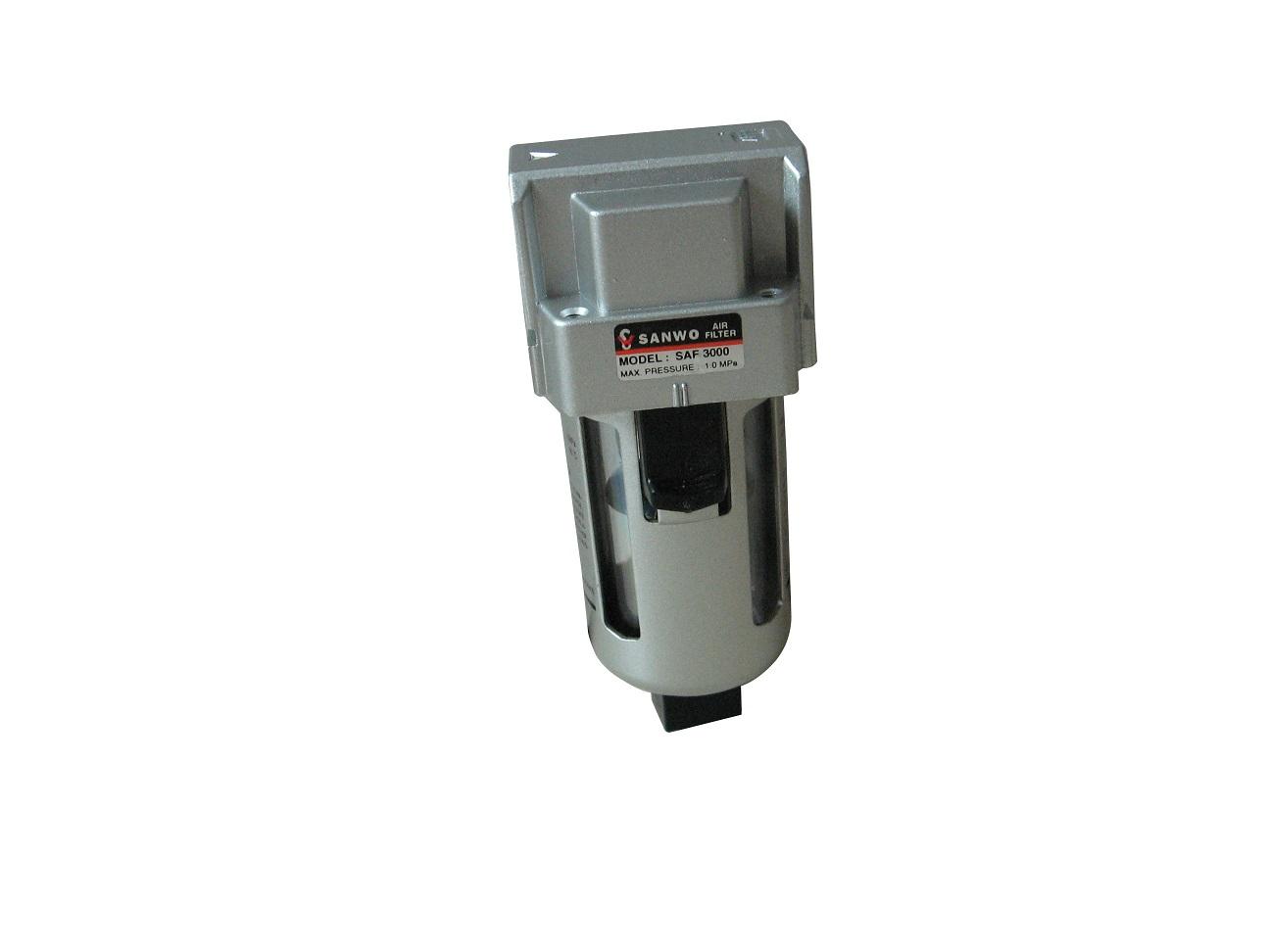 三联件过滤器电磁阀气缸气管接头图片