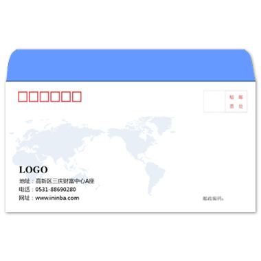 80克双胶纸标准信封印刷图片