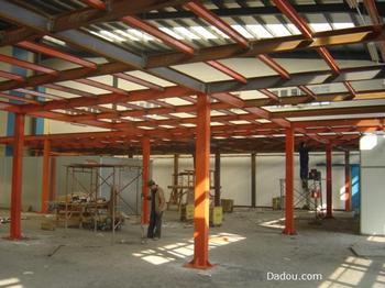 北京专业做阁楼加层客厅挑高空间二层隔层钢结构制作