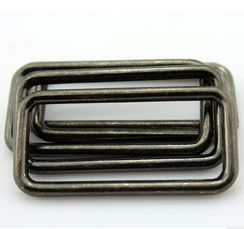 zs14圆形圈椭圆形合金装饰扣