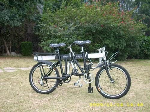 北京超炫浪漫双人自行车生产厂家图片