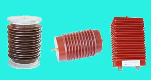 电容器单元,在加以专利技术形成,加入放电间隙后和特制的无感电阻串联
