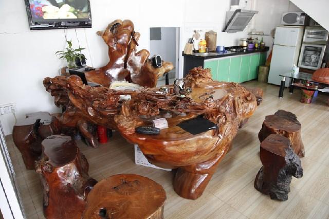 广西根雕茶几批发广西根雕茶几定制纯手工雕刻