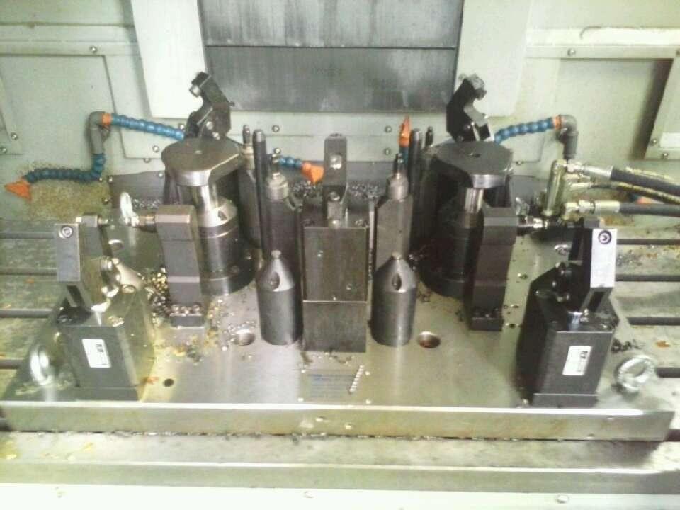 转向节液压夹具,四轴夹具工装夹具