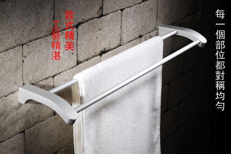青岛卫浴挂件批发毛巾杆浴巾架手纸盒上门安装