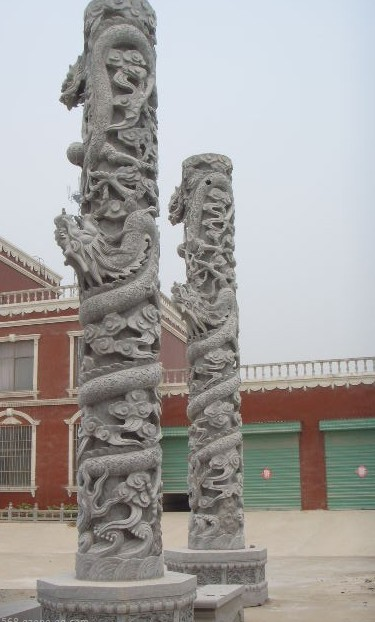 三明龙柱、泉州龙柱、厦门龙柱