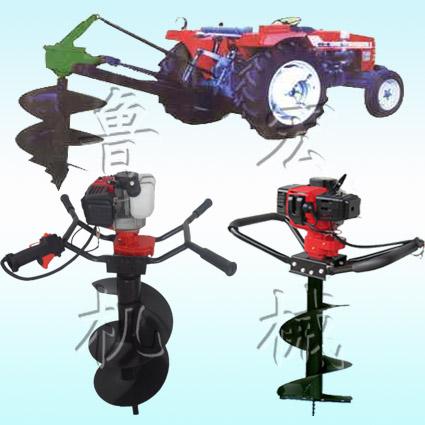 大棚打坑机 挖坑机、旋耕除草机