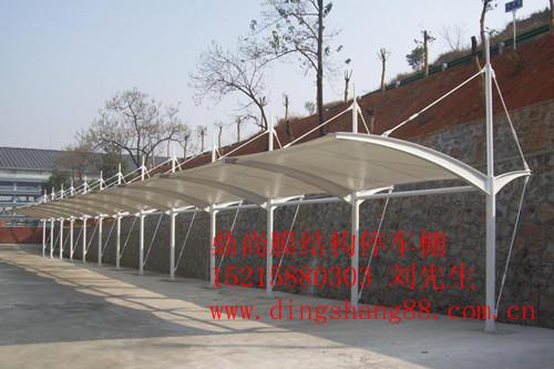镇江停车棚安装,扬州膜结构停车棚-膜结构设计