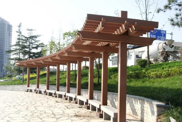 专业供应花架 花架 花架用刚性材料构成一定形状的格架供攀缘植物攀附的园林设施,又称棚架、绿廊。花架可作遮荫休息之用,并可点缀园景。花架设计要了解所配置植物的原产地和生长习性,以创造适宜于植物生长的条件和造型的要求。现在的花架,有两方面作用。