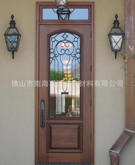 厨房玻璃门卫生间门豪华别墅玻璃门平开门批发