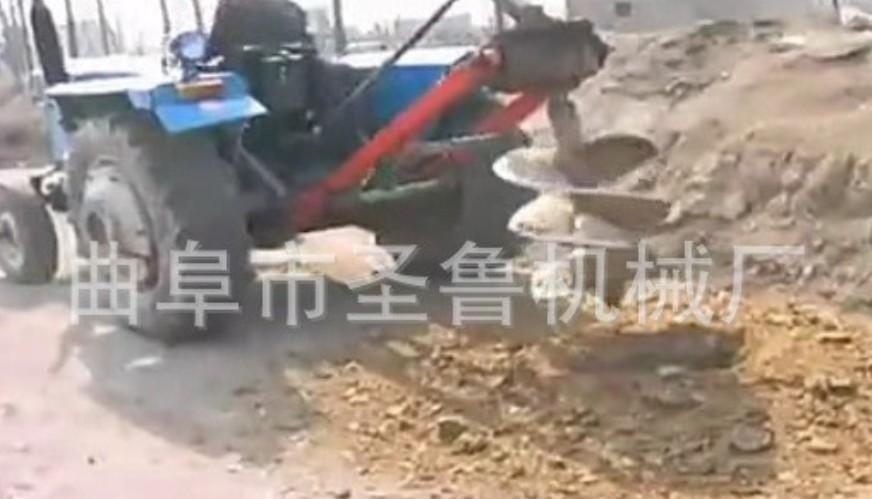 螺旋钻土机 大棚打坑机 手提挖坑机