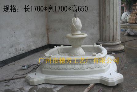 产品种类分为花盆,喷泉,圆雕,浮雕,罗马柱,壁炉,垃圾桶, 广州市穗芳