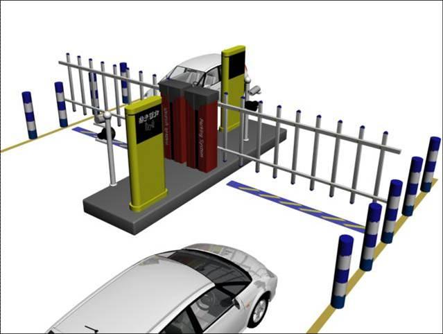 停车场收费系统图片