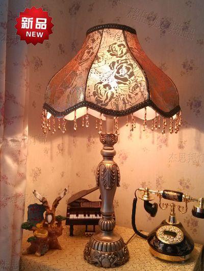 供应欧式台灯价格欧式台灯厂家田园豪华欧式台灯图片欧式卧室床头灯