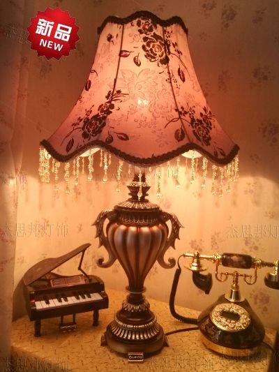 供应欧式台灯生产厂家欧式台灯价格欧式蕾丝台灯图片卧室床头灯欧式
