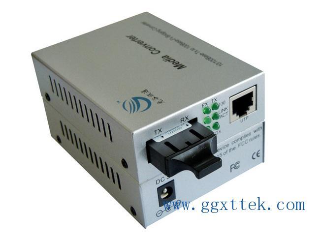 厂家直销1光1电光纤收发器光电转换器光猫光交换机