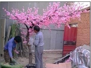 卖仿真树厂家北京仿真桃花树批发租赁