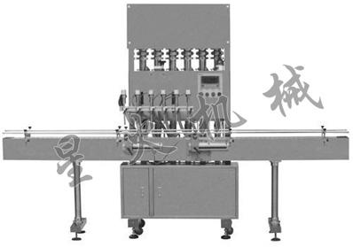 直线型全自动液体灌装机