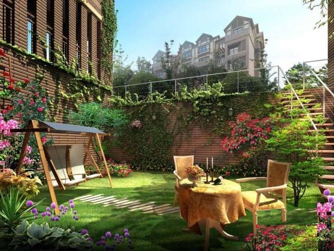 南宁庭院景观-北海建筑工程 广西北海建筑工程价格 广西北海建筑工程图片