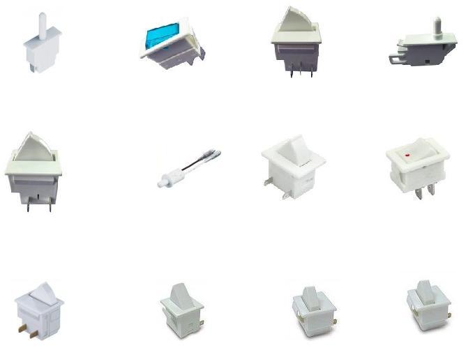 冰箱门灯开关电路分析/冰箱门控开关电路解析/冰箱复位开关电路解答
