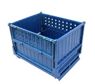批发折叠物流箱特价折叠周转箱生产定制