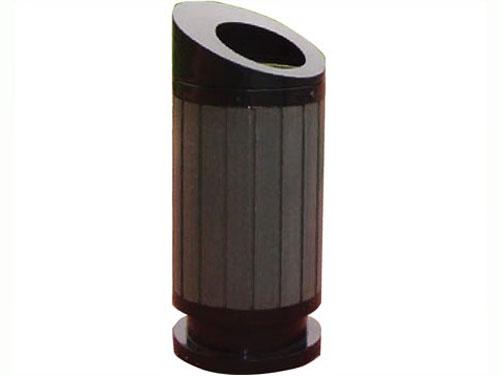 重庆钢制单筒垃圾桶优质钢制垃圾桶批发零售环保垃圾桶广场垃圾桶走廊