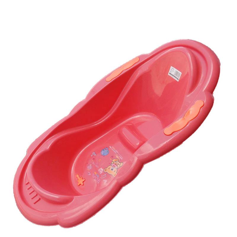 加厚塑料宝宝洗澡盆批发-浴盆 浴盆价格 浴盆厂家图片