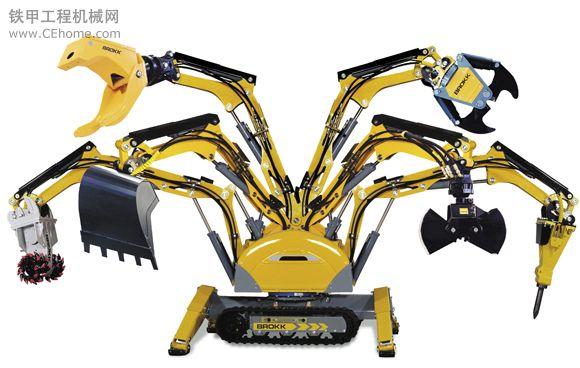 租用多功能遥控破拆机器人