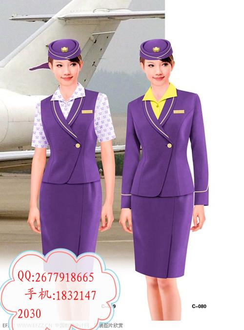空姐服务员服装空姐制服公司南航空姐服图片