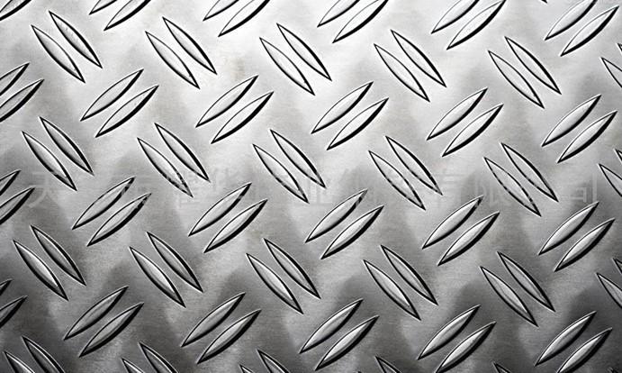 304不锈钢花纹板防滑车间地面防滑