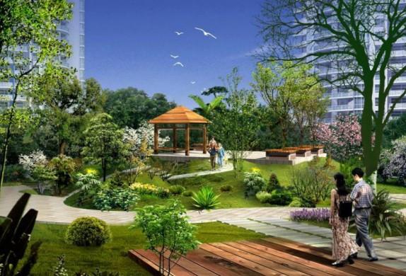 专业小区绿化植物搭配设计