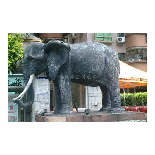 新视界动物雕塑大象雕塑制作