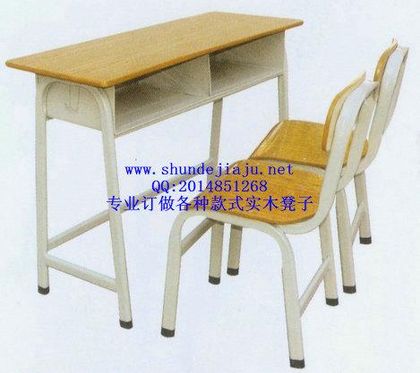 实木凳子,学生实木双人课桌椅订做