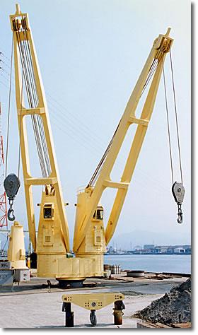液压船用克令吊图片